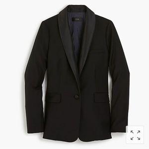 J. Crew Tuxedo Single Button  Blazer  Sz8 H2744